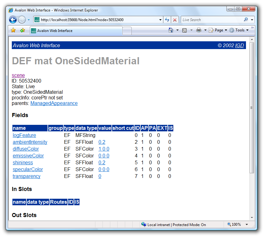 instantreality 1 0 - tutorial - Web Interface
